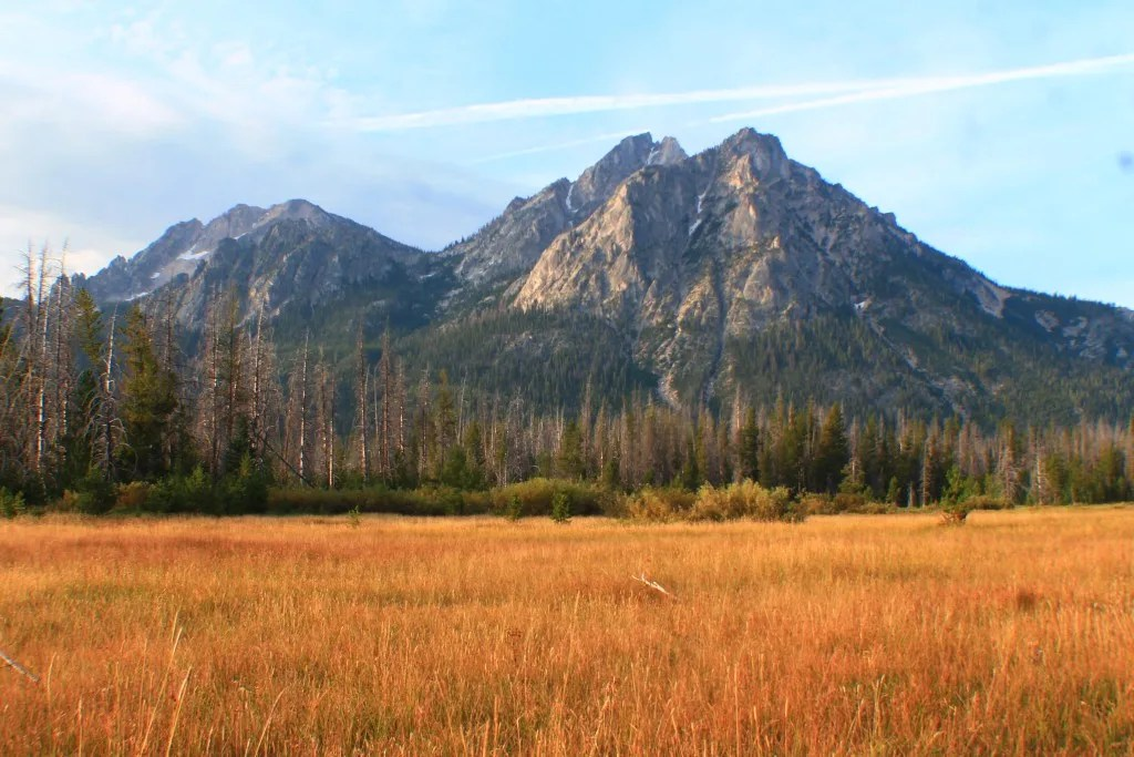 Bridalveil Falls: Best Day Hikes in the Sawtooth Range, Idaho
