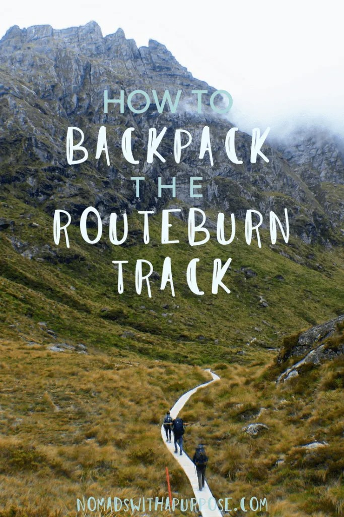 How to Backpack the Routeburn Track