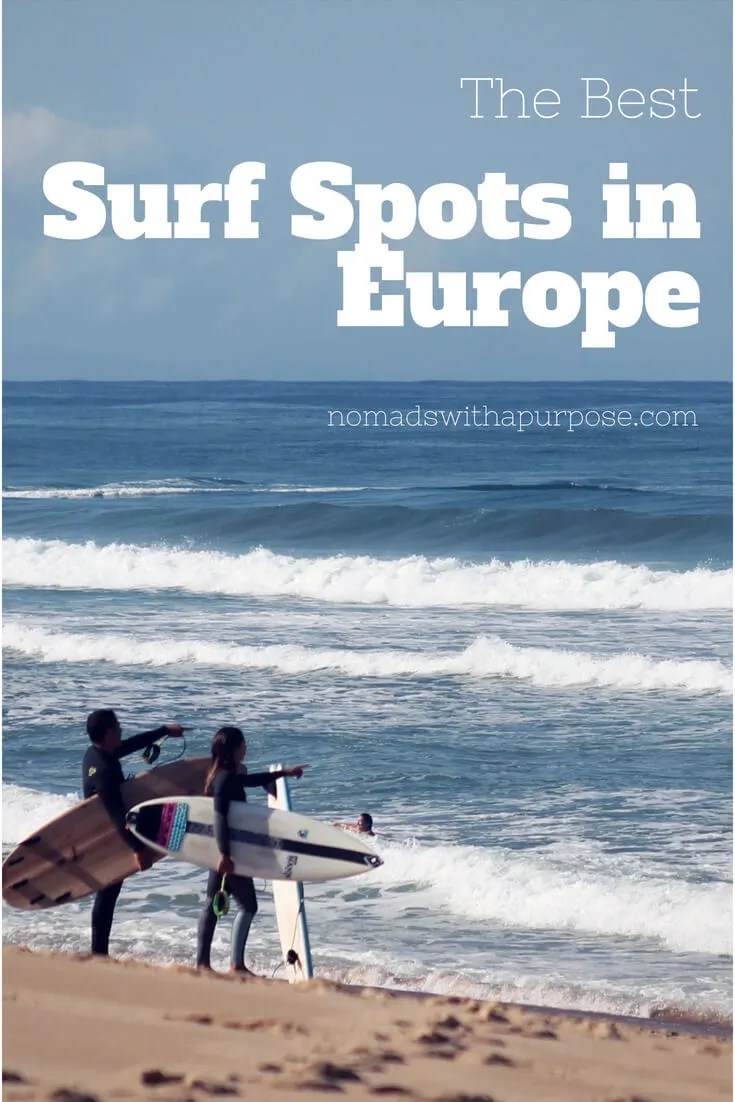 Best Surf Spots in Europe For Beginners & For Intermediates