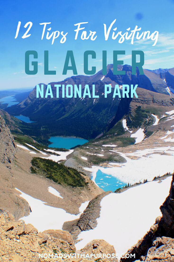 Pin 12 tips for glacier national park
