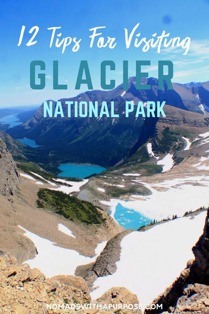 Pin 12 tips for glacier national park