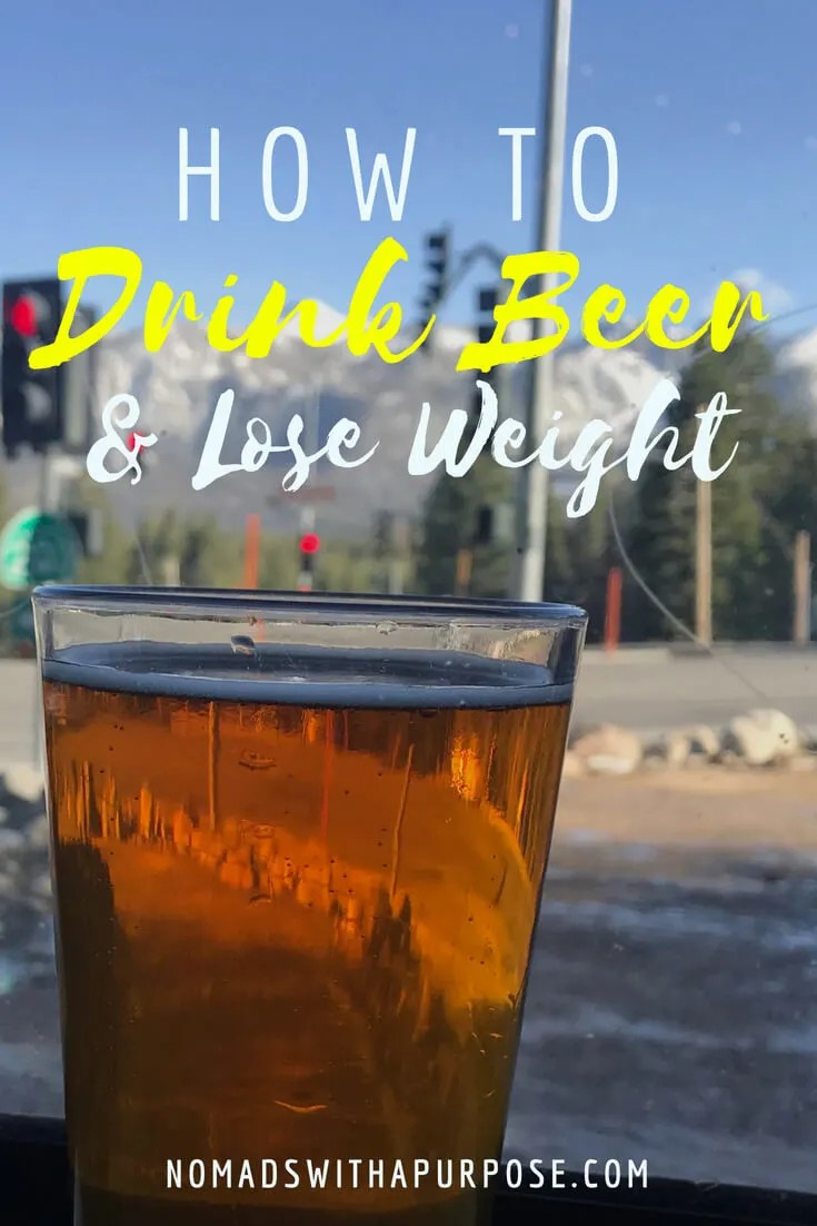 How to Drink Beer and Lose Weight