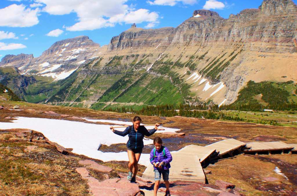 Hidden Lake Overlook, Best Hikes in Glacier National Park, Easy