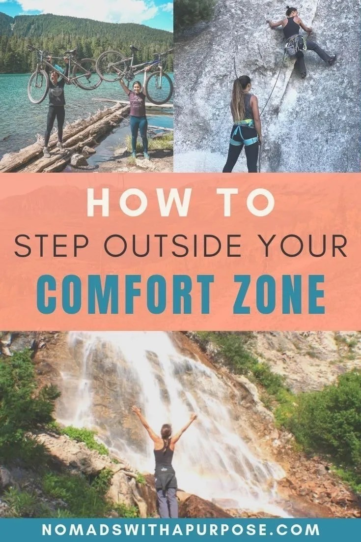 How To Step Outside Your Comfort Zone Challenge