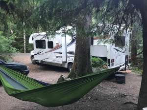 best campground Washington Colonial Creek