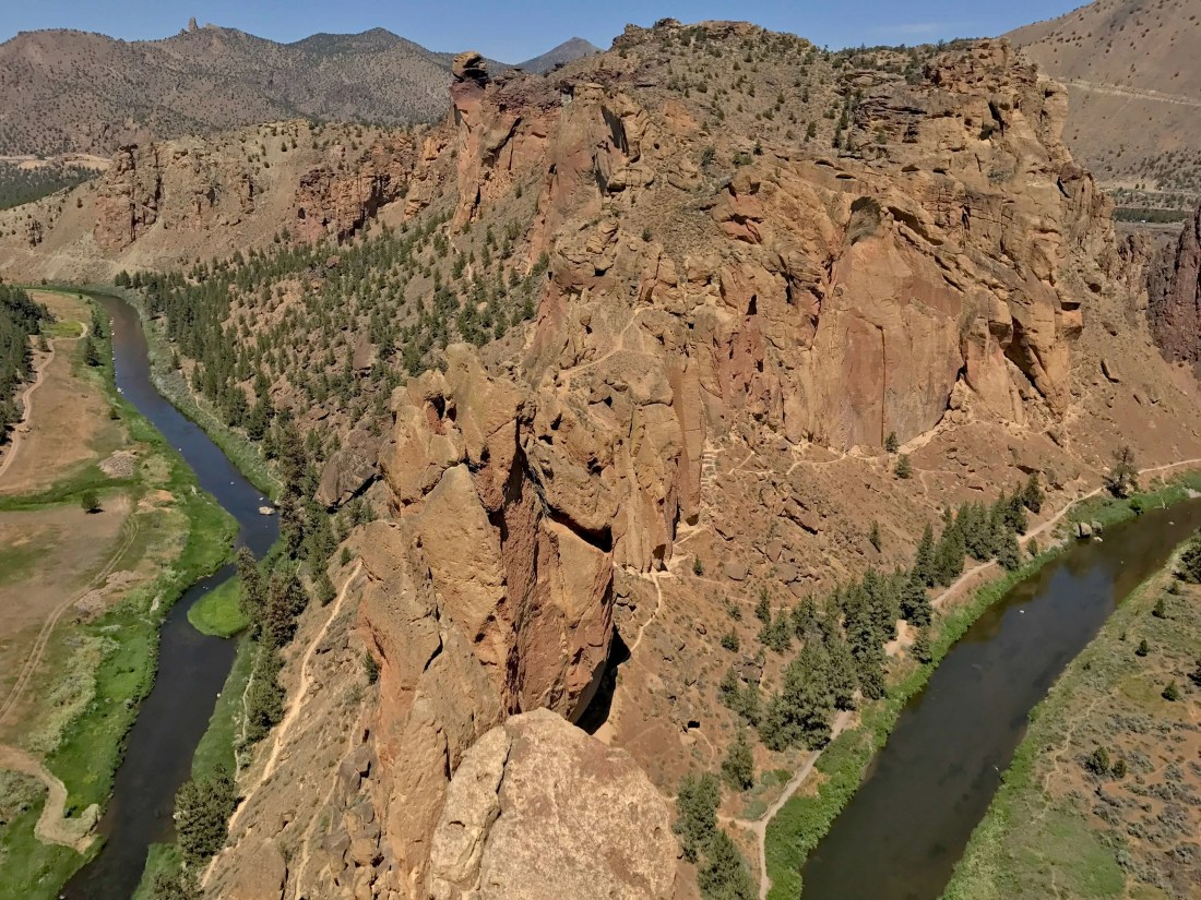 Bend Oregon 4 Day Itinerary Smith Rock