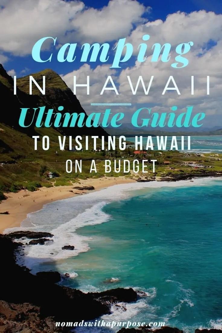 Camping Hawaii: Guide to Visiting Hawaii on a Budget
