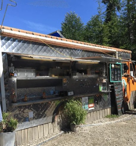 Tacofino food truck, Vancouver, BC