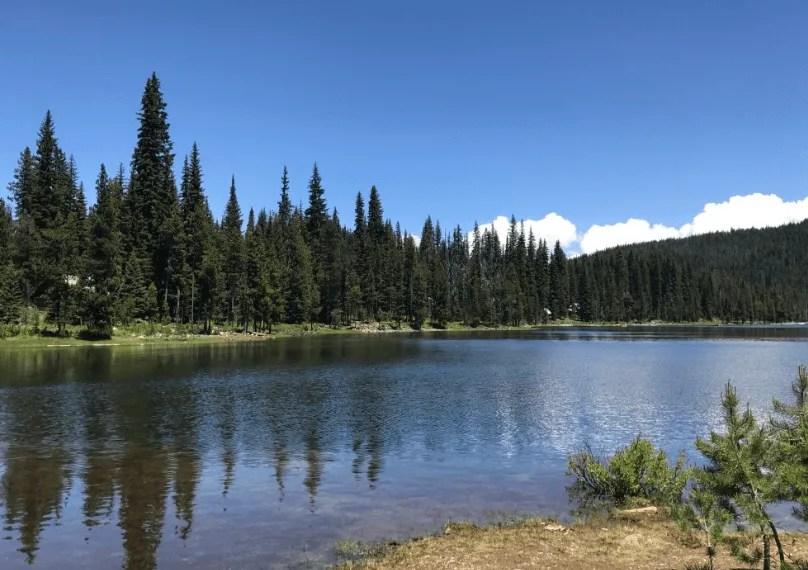 Cascade Lakes Highway: Elk Lake