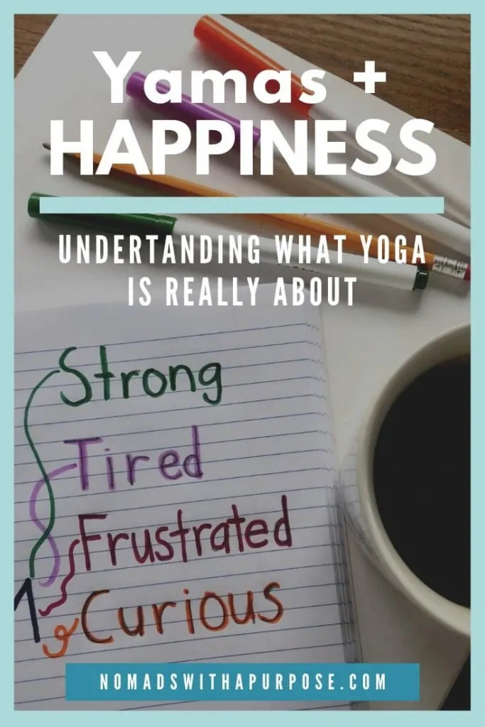 The Yamas and Happiness
