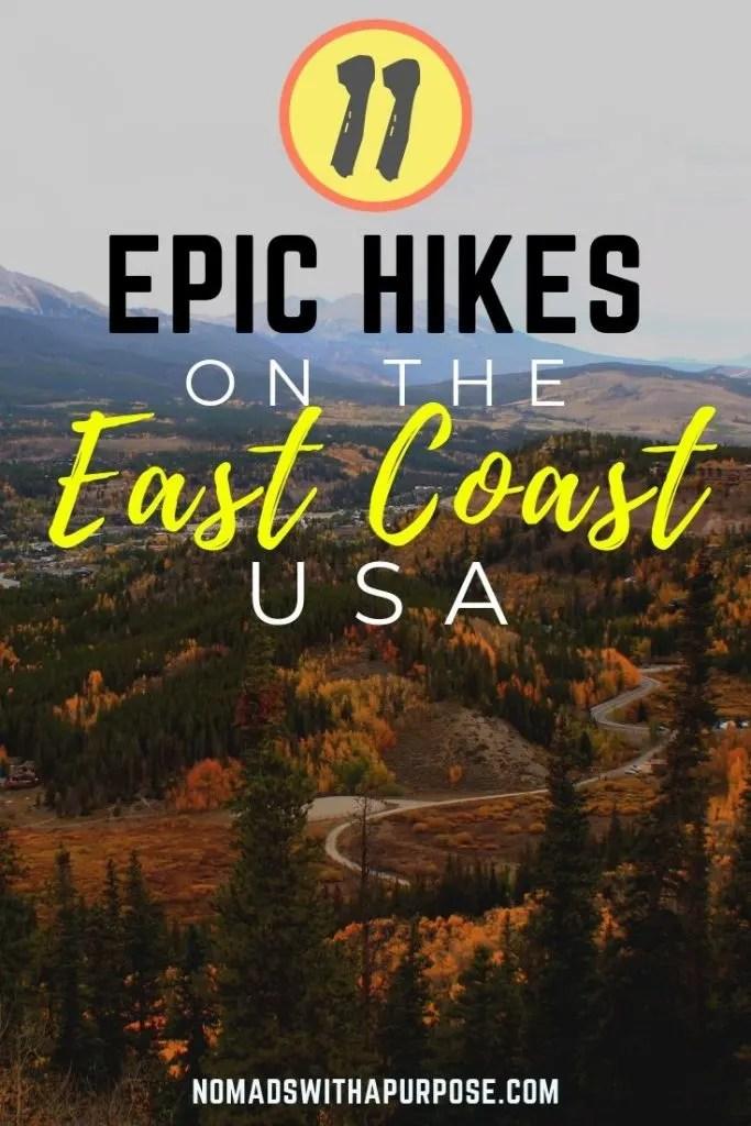 Best Hikes on the East Coast