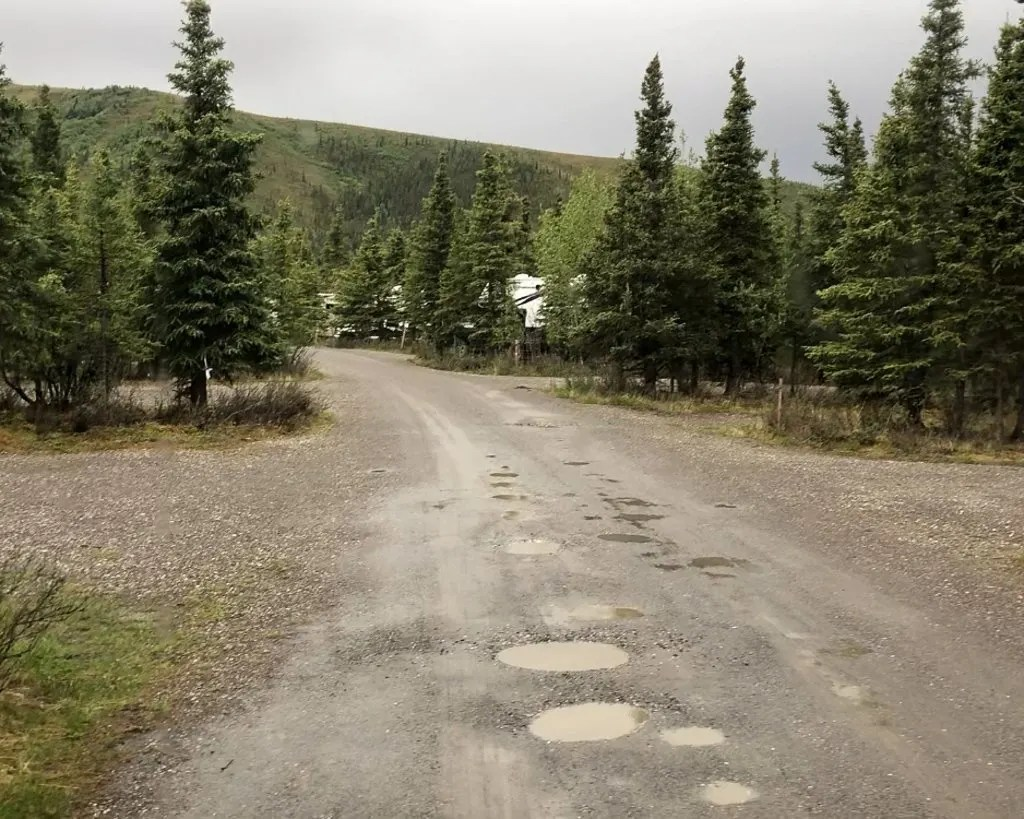 Teklanika, Denali National Park, Hiking and Camping, Alaska