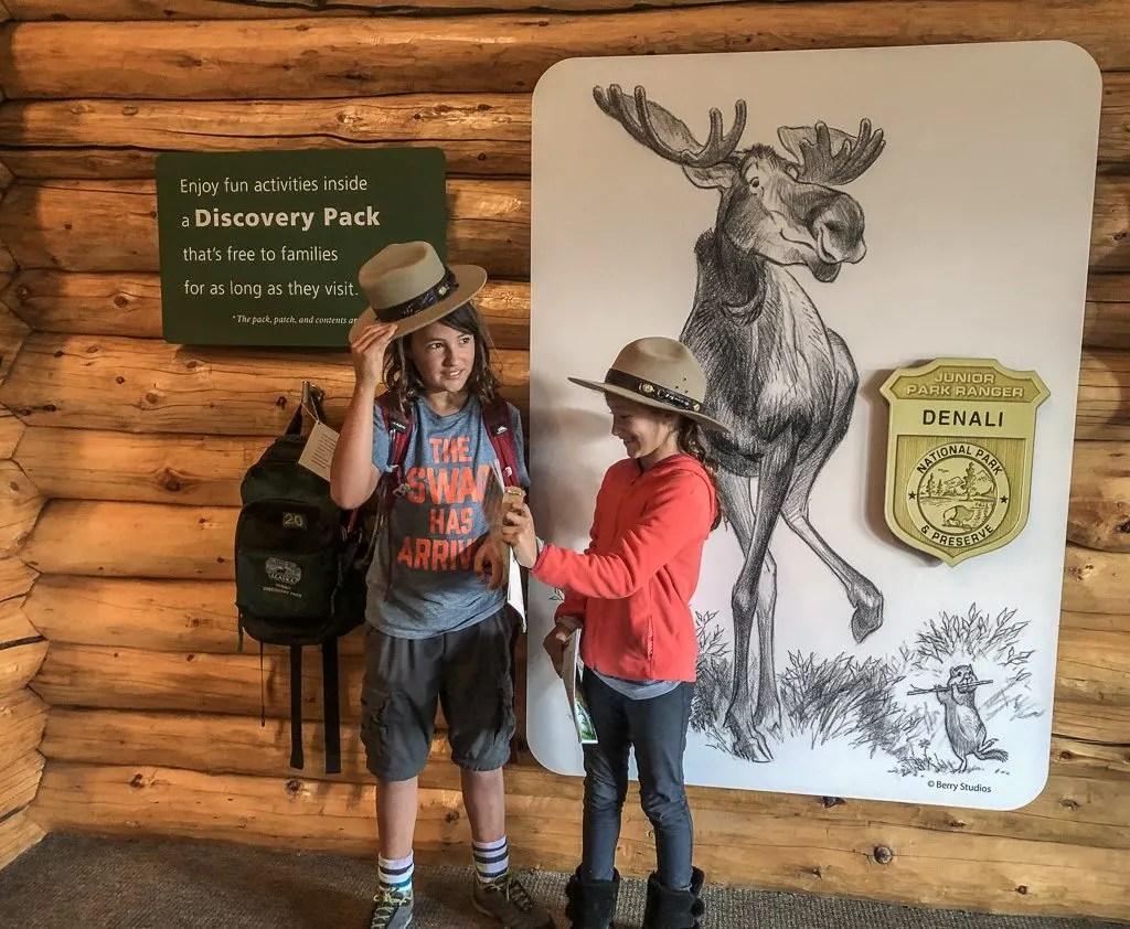 Junior Rangers, Denali National Park, Hiking and Camping, Alaska