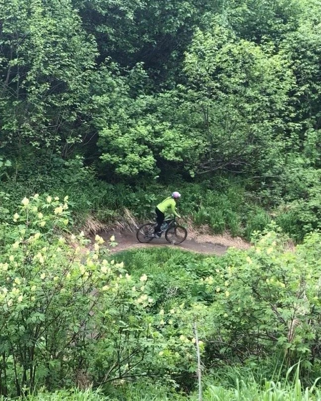 Mountain Biking in Anchorage at Kincaid Park