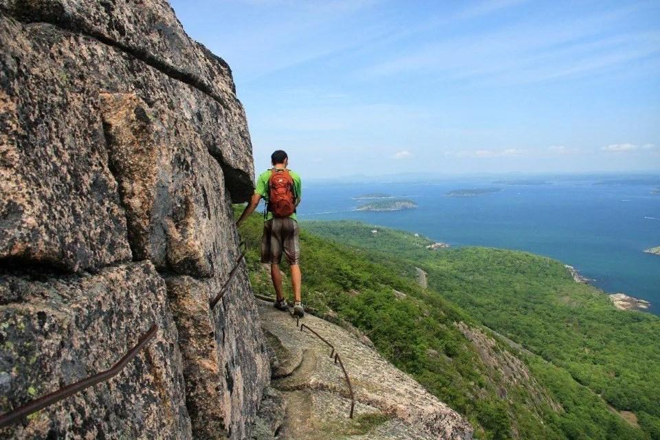 Beehive Trail Acadia, Best East Coast Hikes
