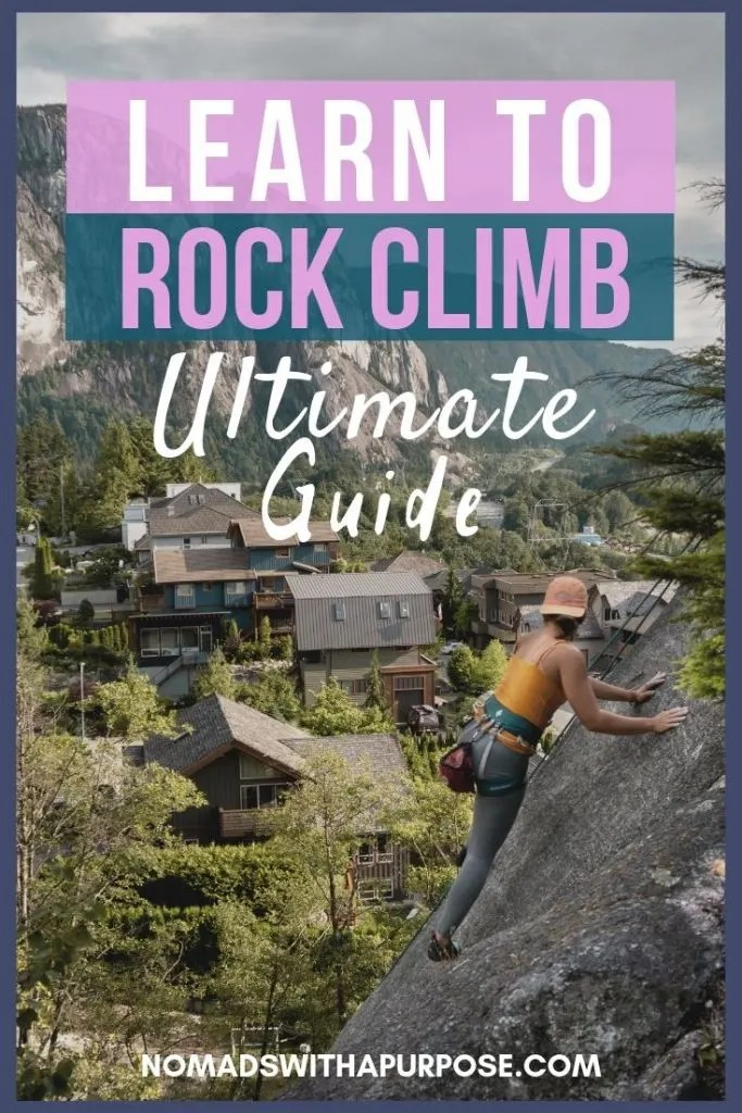 Learn how to rock climb