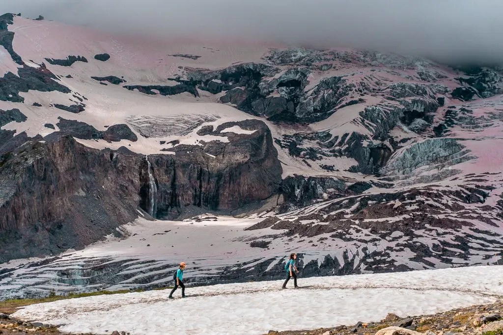 Glacier Overlook, Skyline Trail, Paradise, Mount Rainier National Park