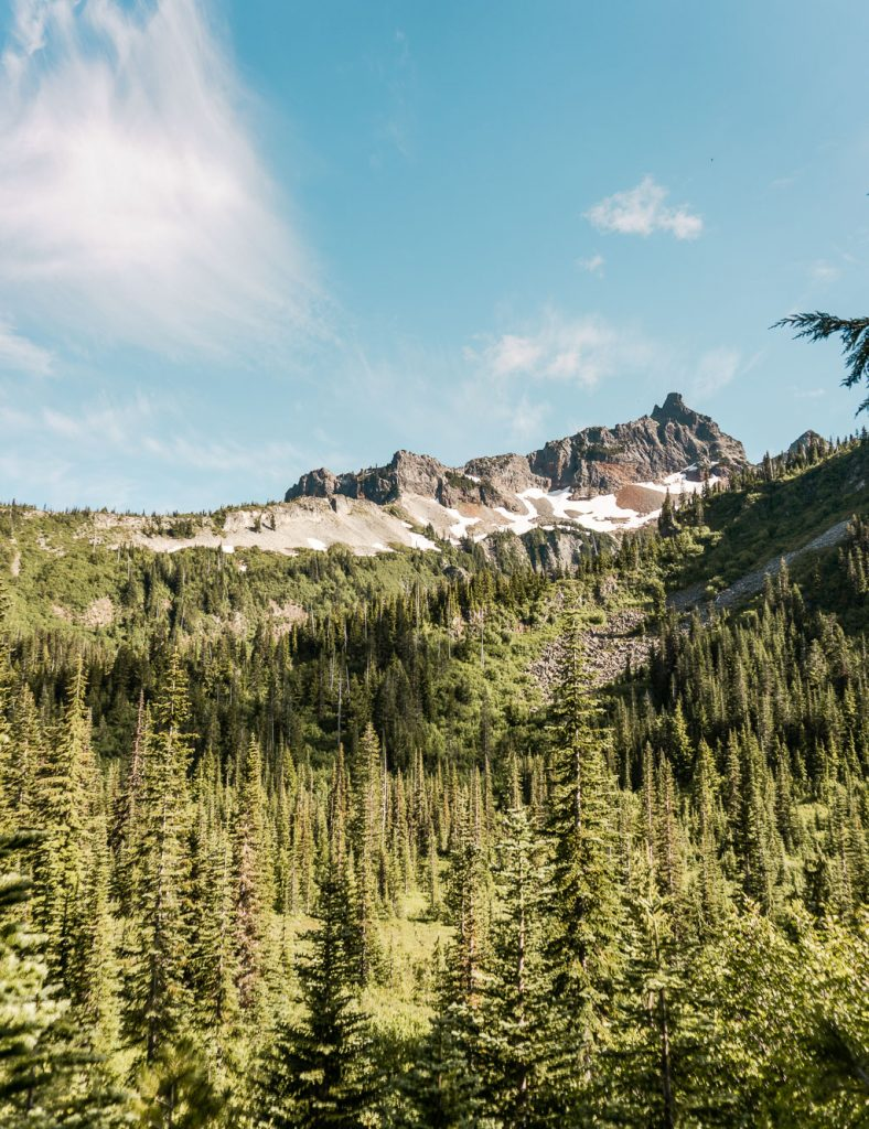 Snow Lakes Trail, Mount Rainier NP, Hiking
