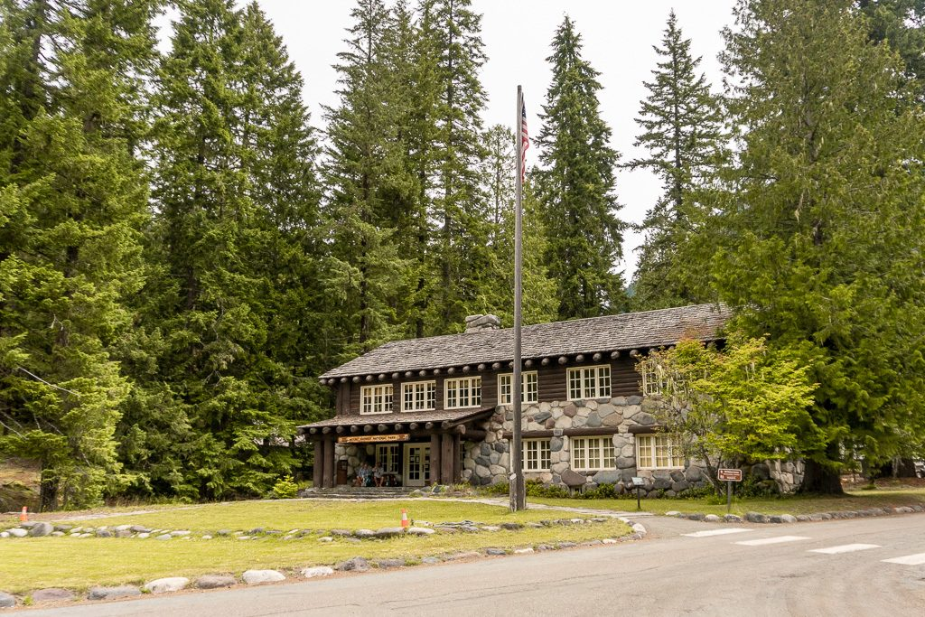 Longmire station in Mount Rainier