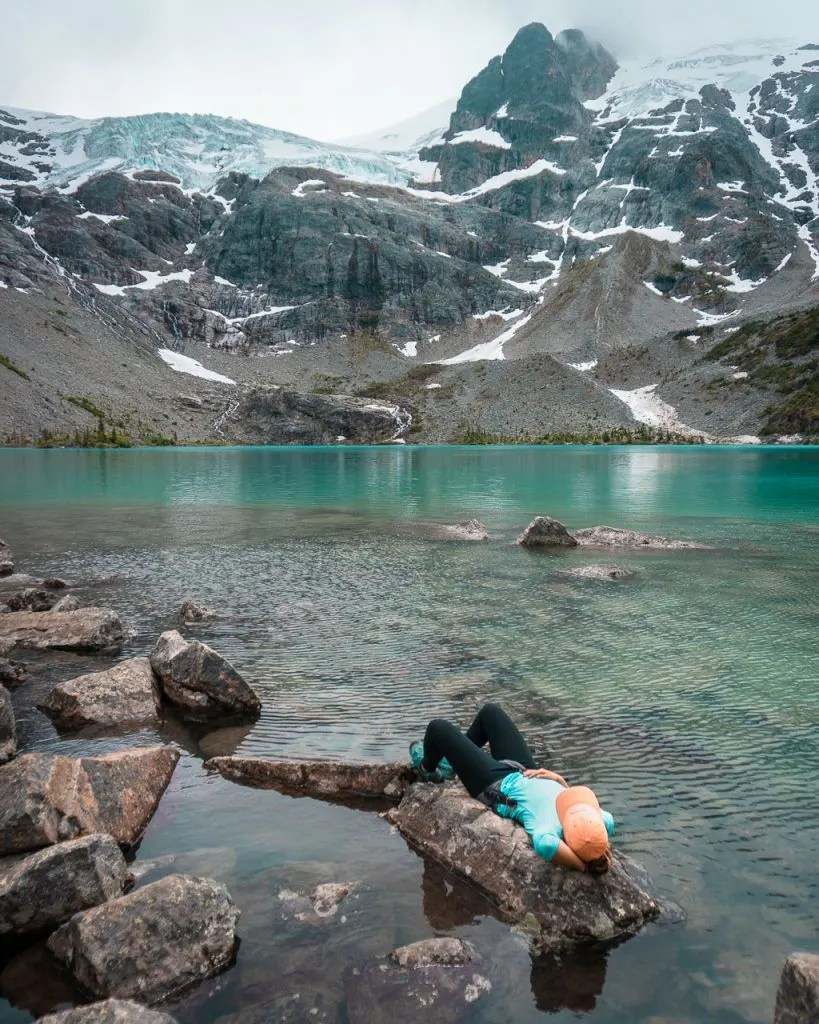 Iconic Joffre Lakes near Whistler