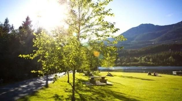 whistler Alpha Lake park