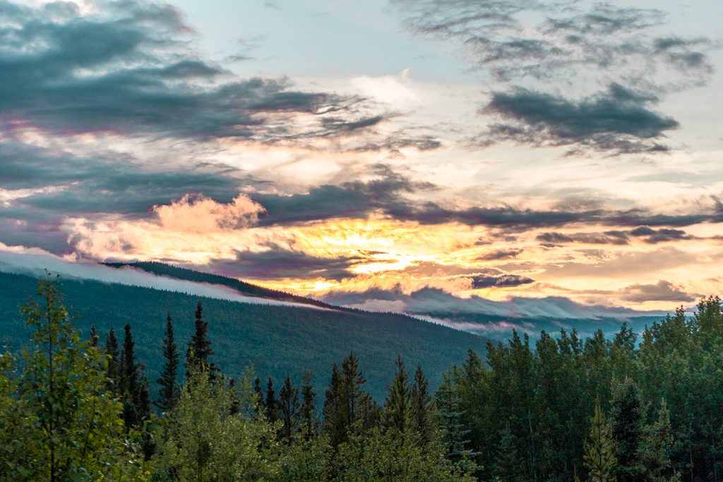 Cassiar Highway by Dease Lake