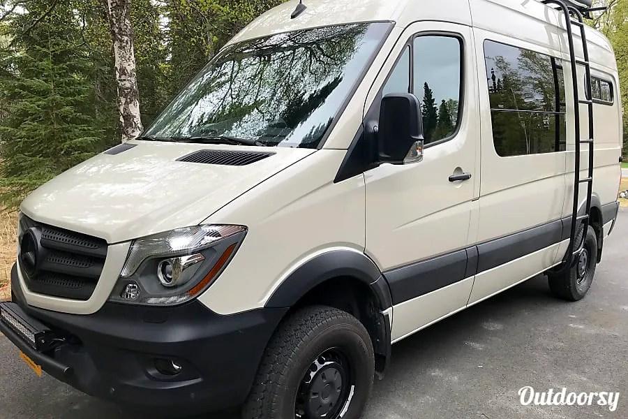 Anchorage RV Rentals, Mercedes Sprinter