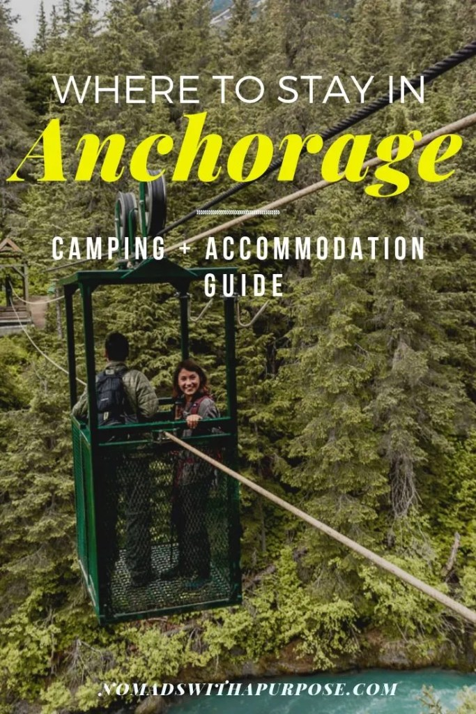 Where to stay in Anchorage: camping + accommodation