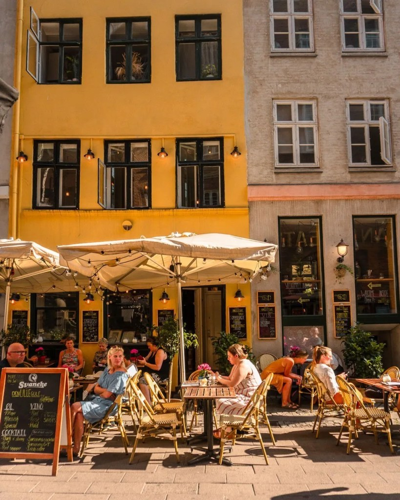 Little Yellow Coffee Shop, Copenhagen itinerary 1 day