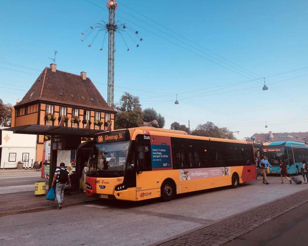 Public Transport, Copenhagen 1 day Itinerary