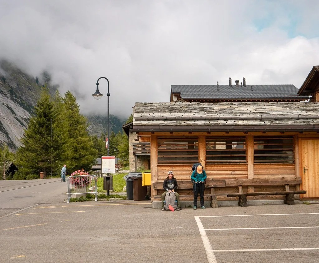 La Fouly village, Tour du Mont Blanc, Swiss Alps