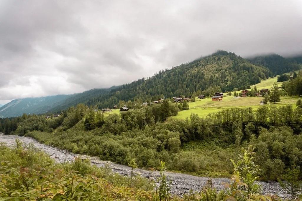 stage 7, La Fouly to Champex, Tour du Mont Blanc, Swiss Alps