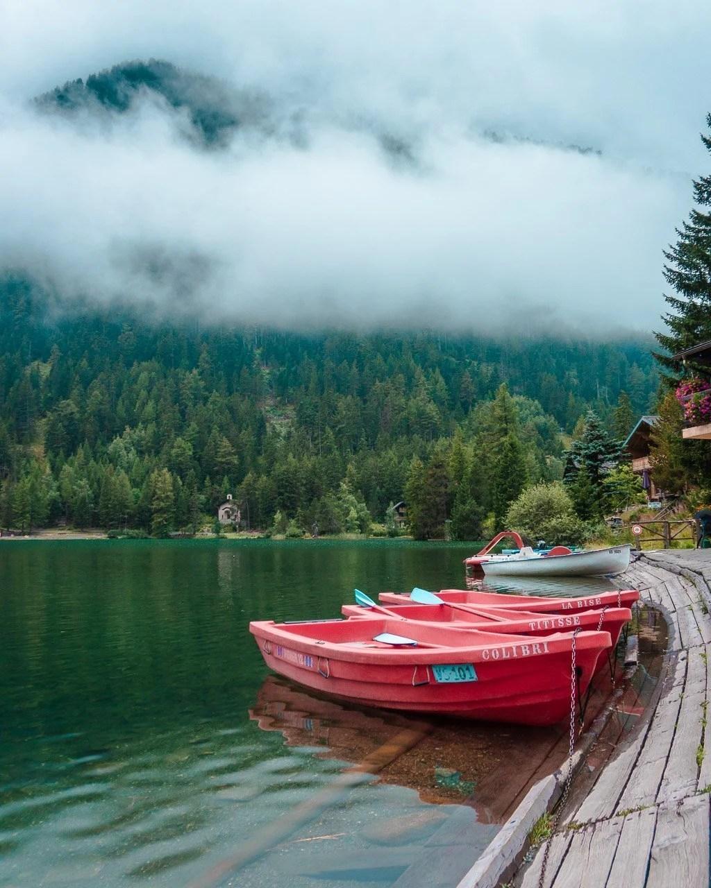 Champex Lac, Tour du Mont Blanc, Swiss Alps