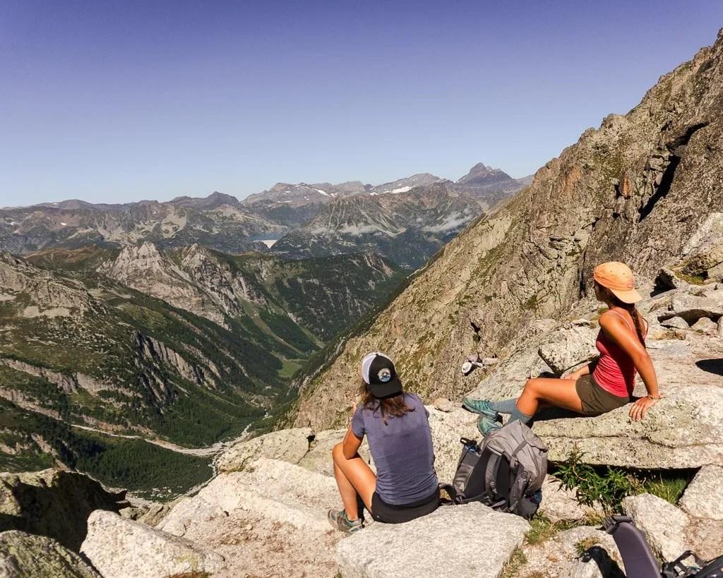 Tour du Mont Blanc alt stage 8 via Fenetre d'Arpette, Swiss Alps