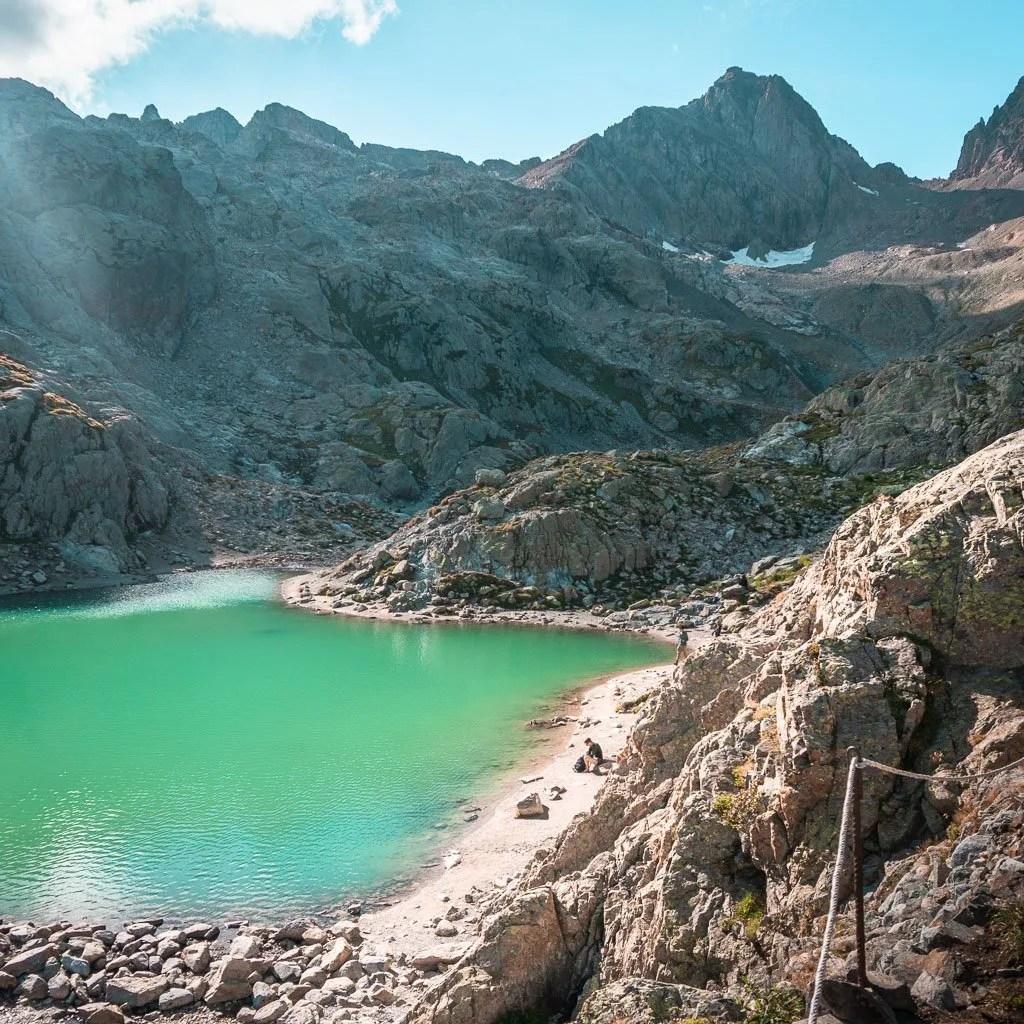 Lac Blanc, Tour du mont blanc stage 10, French alps