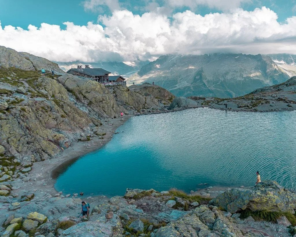 Lac Blanc, Tour du mont blanc stage 10, French alps