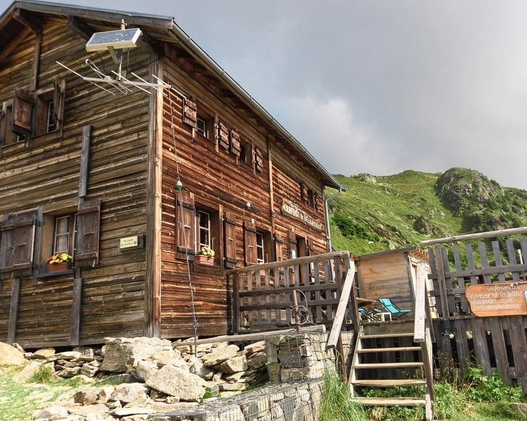 Refuge de Bellachat on Stage 11 of the Tour du Mont Blanc
