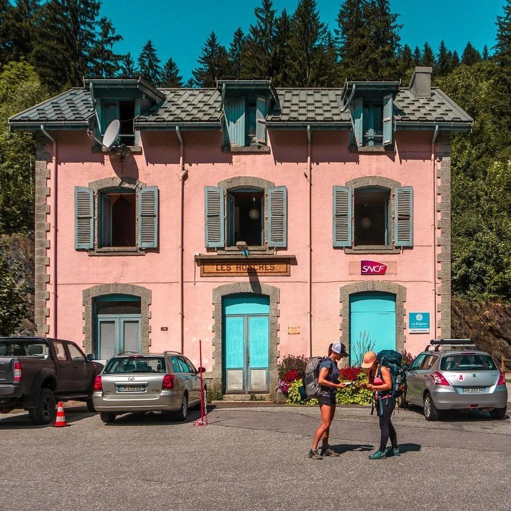 Public Transport for stage 1 of Tour du Mont Blanc