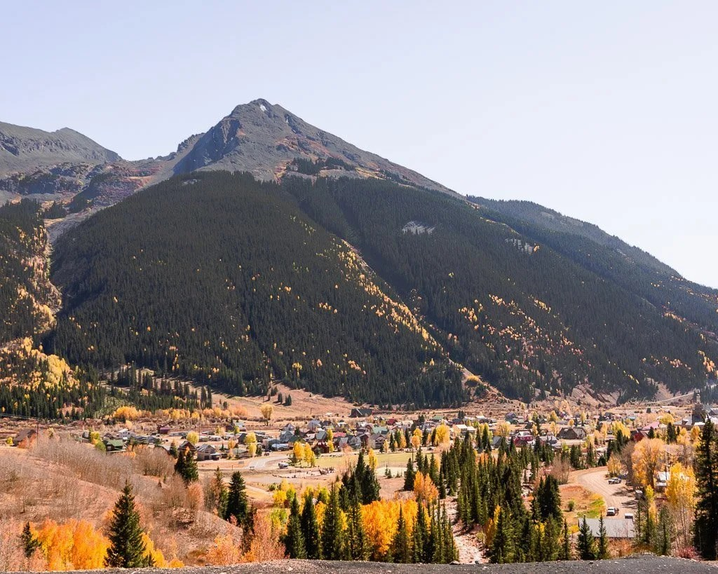 Silverton from above