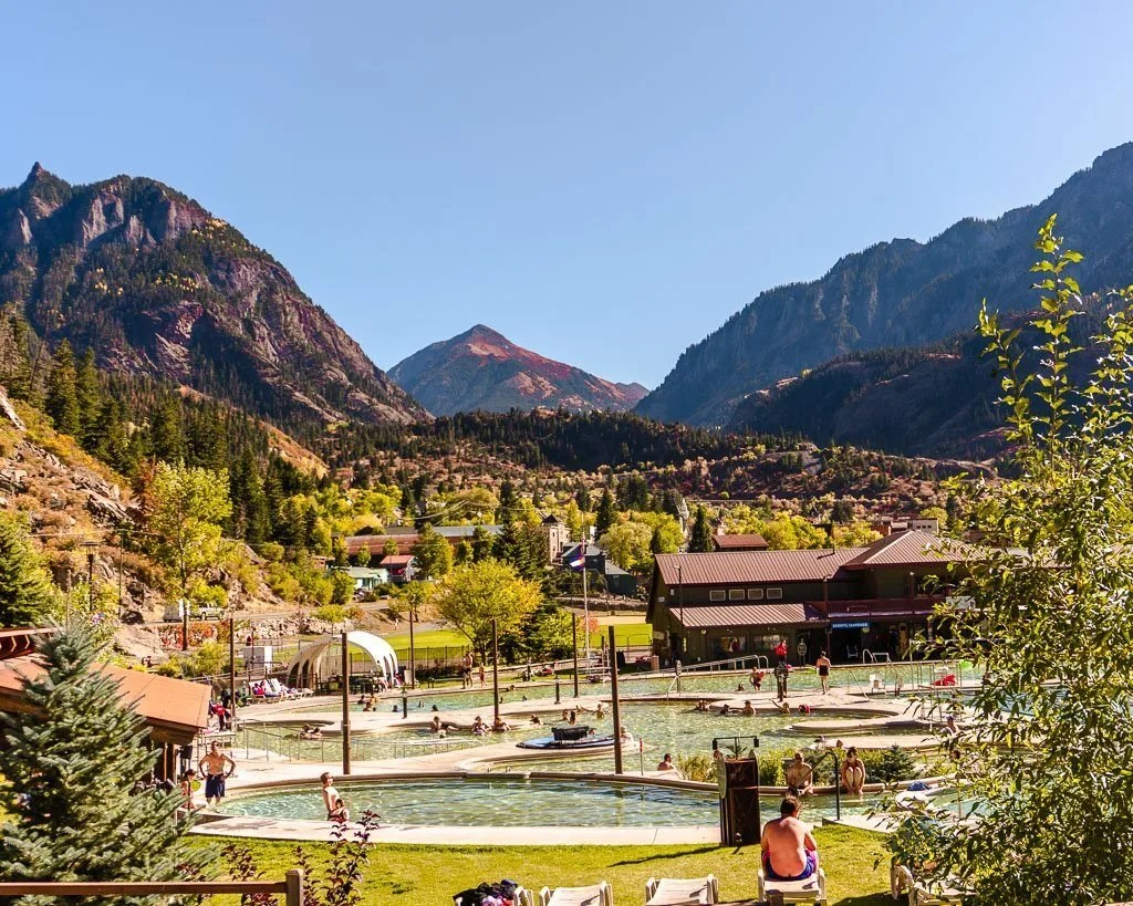 Ouray hot springs, Colorado, things to do