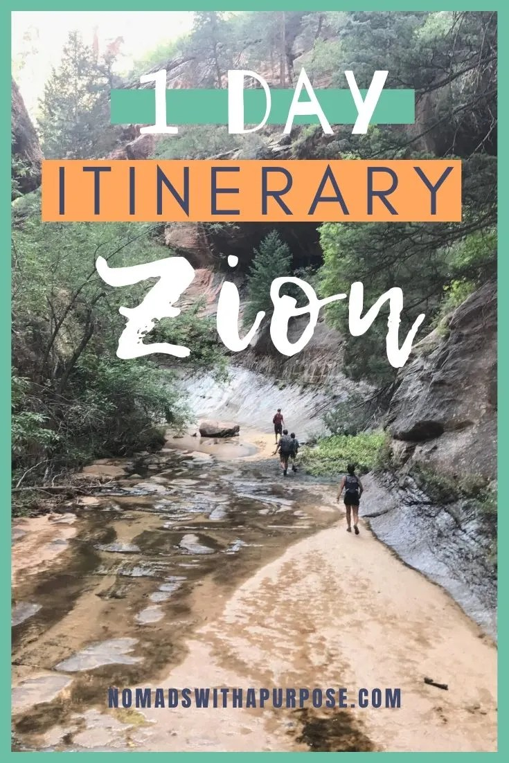One Day Zion Itinerary
