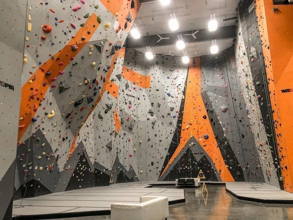 Climb Bentonville rock gym