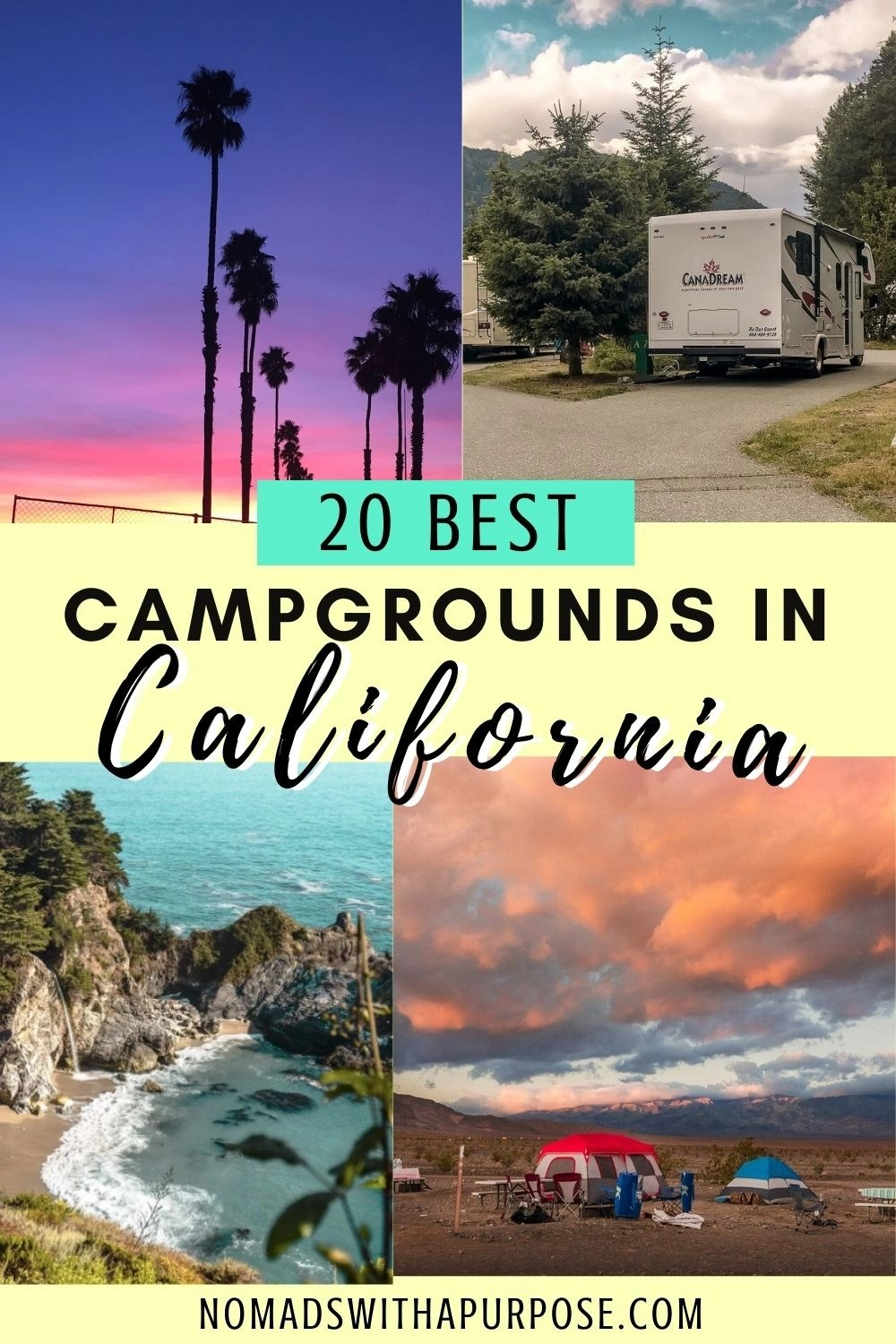 20 Best Campgrounds In California
