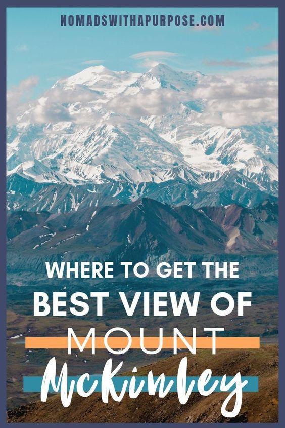best view Mount McKinley