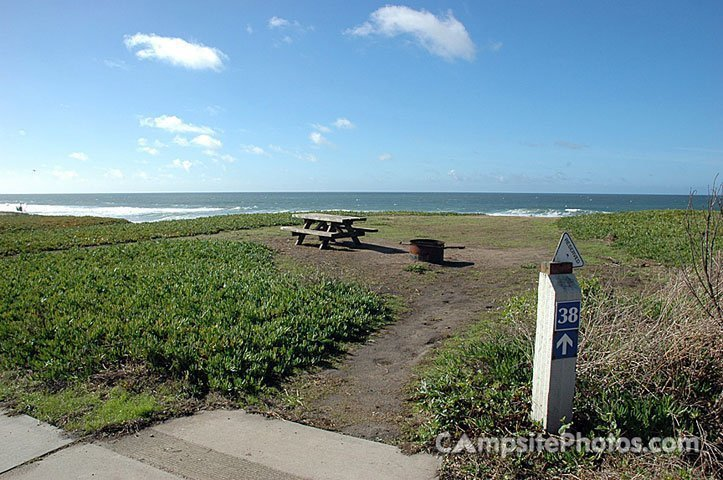 Half Moon Bay, Best campground California