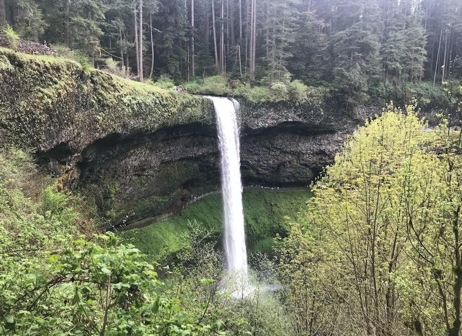 silver falls, west coast road trip