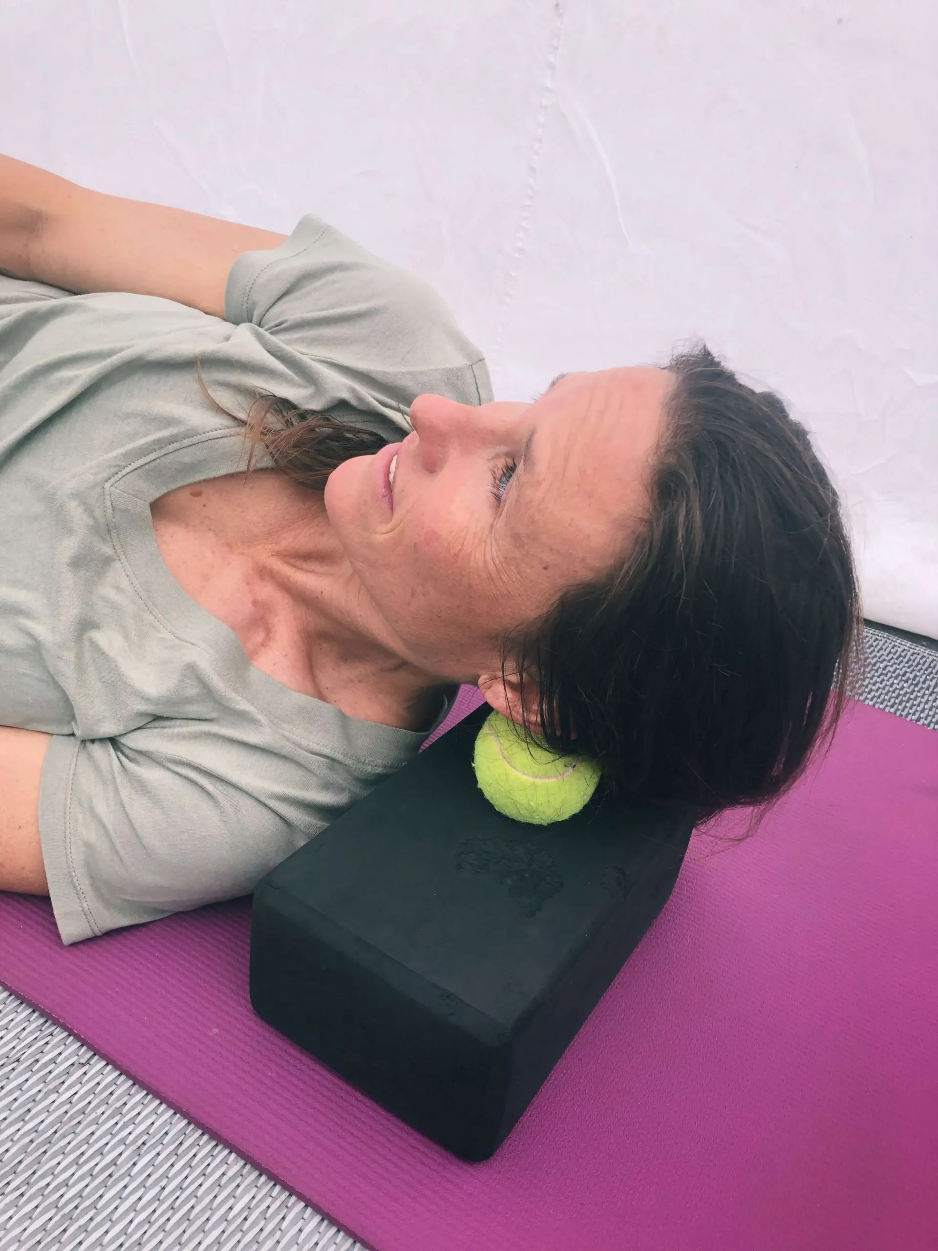 myofascial release tool for neck muscles