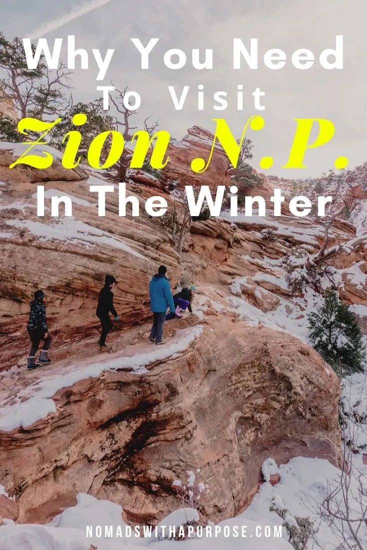 Why You Need to Visit Zion in the Winter