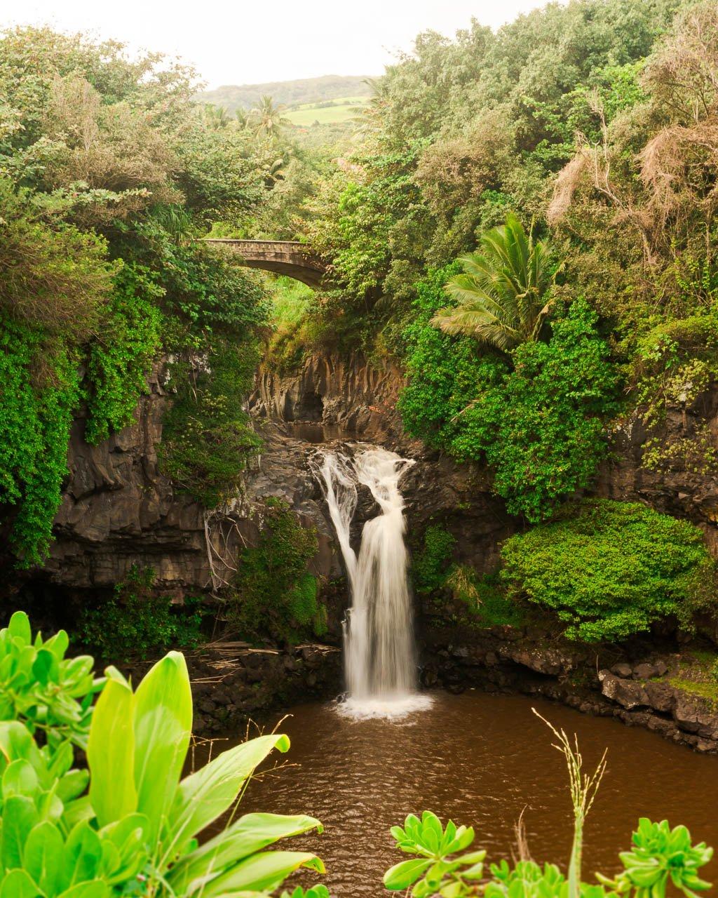 Seven sacred Pools, Haleakala, Road to Hana, Maui