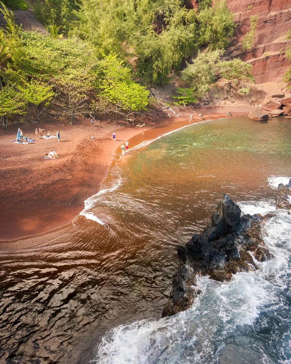 Red Sand Beach, Road to Hana, Maui